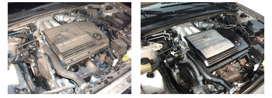 Before and After Engine
